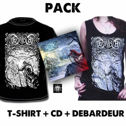 Pack Cervisia  - Tshirt + Débardeur + CD album Trails of a Walker