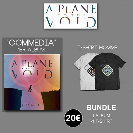 Pack A Plane To The Void - CD 'Commedia' + Tshirt